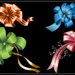 Royalty-Free Stock Imagen vectorial: Collection of gift bows