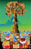 Life tree — Stock Vector