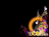 Celebratory background — Stock Vector