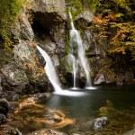 Bash Bish falls in Berkshires — Stock Photo