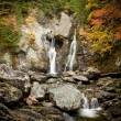 Bash Bish falls in Berkshires - Stock Photo