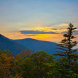Sunset on Skyline Drive — Stock Photo
