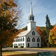 Townshend Church in Fall — Stock Photo