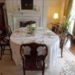 Old fashioned dining room — Stock Photo