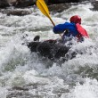 white water kayaking — Stock Photo #4124432