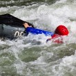 White water kayaking — Stock Photo #4124435