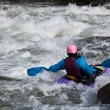White water kayaking — Stock Photo #4124446