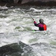 White water kayaking — Stock Photo #4124451