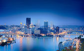 HDR image of Pittsburgh — Stock Photo