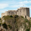 Medieval fort in Dubrovnik - Stock Photo