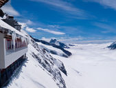 Viewpoint on Jungfraujoch — Stock Photo