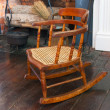 Stock Photo: Childs rocking chair