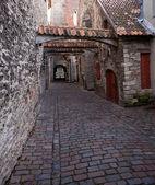 Katarina street in Tallinn — Stock Photo