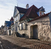 Old embassy in Tallinn — Stock Photo