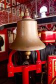 Bell on firetruck — Stock Photo
