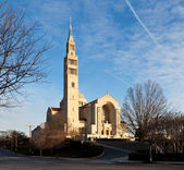 Basilica of the National Shrine of the Immaculate Conception — Stock Photo