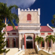 Lutheran Church in St Thomas — Stock Photo