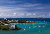 Entering Cruz Bay on St John — Foto Stock