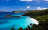 Trunk bay na st john — Stock fotografie