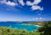 Caneel Bay on St John — Stock Photo
