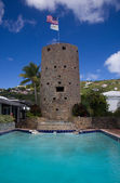 Blackbeards Tower in St Thomas — Stock Photo