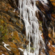 Weeping wall in Smoky Mountains covered in ice — Stock Photo #5194640