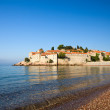 Sveti Stefan island-resort, Montenegro - Stock Photo