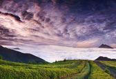 Ráno v horách — Stock fotografie