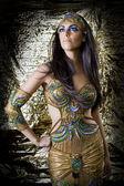 Oriental dancer woman — Foto de Stock