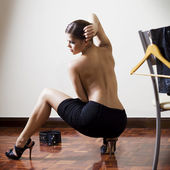 Sexy fashion woman — Stock Photo
