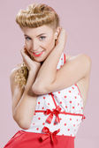 Pin-up girl — Stock Photo