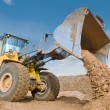 Wheel loader excavation working — Stock Photo #5366723