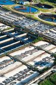 Sewage water plant — Stock Photo