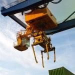 Crane cargo — Stock Photo