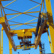 Crane at port - Stock Photo