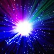 Fiber light - Stock Photo