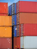 Containers block — Stock Photo