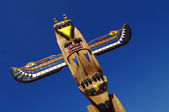 Totem closeup — Stockfoto