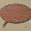 Brick creativ background - Stock Photo