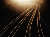 Railroad view — Stock Photo