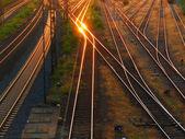 Eisenbahn-ansicht — Stockfoto
