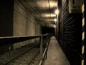 Railway tunnel — Stock Photo