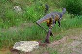 Modelos de dinosaurios — Foto de Stock