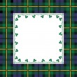 Royalty-Free Stock Vector Image: Tartan frame
