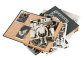 Old photo albums — Stock Photo