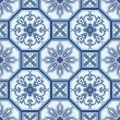 Seamless ornamental oriental pattern vector background — Image vectorielle