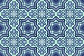 Seamless ornamental oriental pattern vector background — Stock Vector