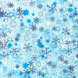 Snowflakes background — Stock Vector #4062608