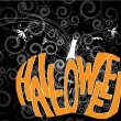 Halloween pumpkin — Vector de stock #4065868