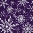 Background with snowflakes - Stock Vector
